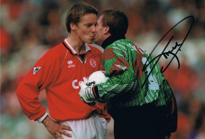 Signed-Tim-Flowers-Blackburn-Rovers-Autograph-Photo-England-Southampton-271901745292