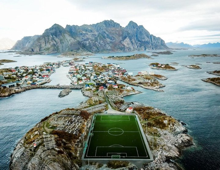 football-ground-lofoten