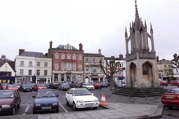 FILE PHOTO - Market Place Devizes, Wiltshire.