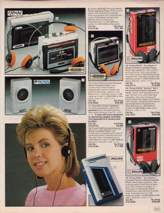 walkmans