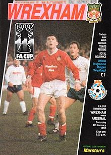 Wrexham_v_Arsenal_programme